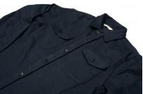 3sixteen CPO Shirt - Navy Twill - Image 4