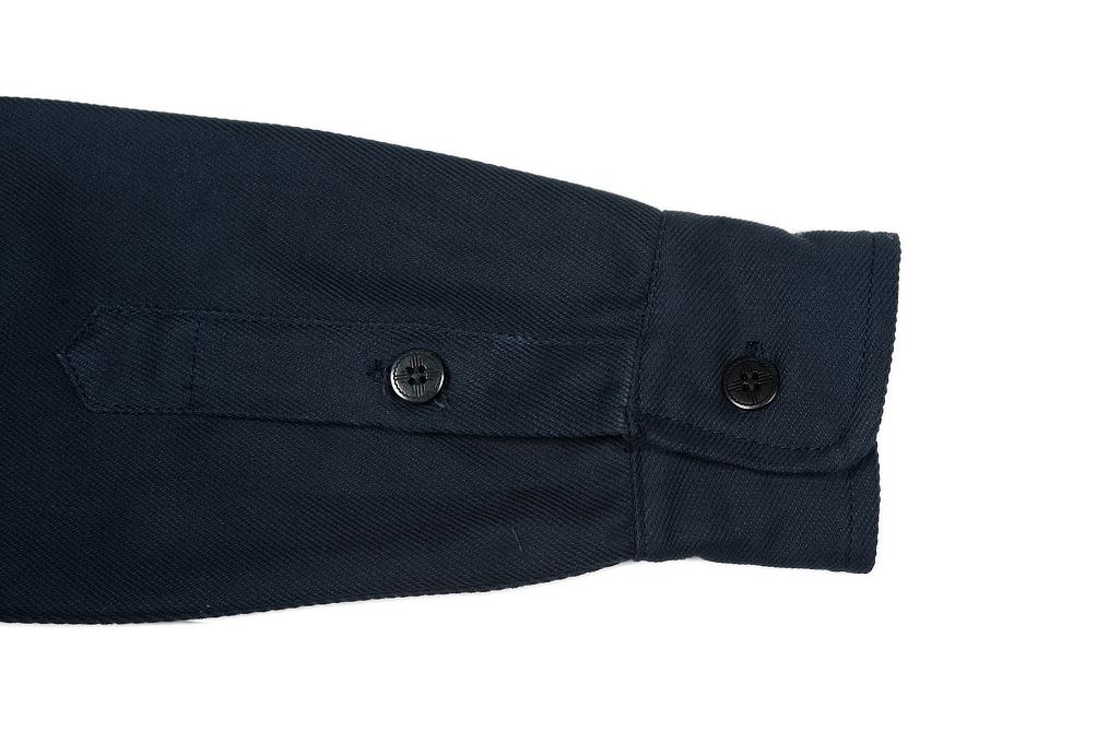 3sixteen CPO Shirt - Navy Twill - Image 7
