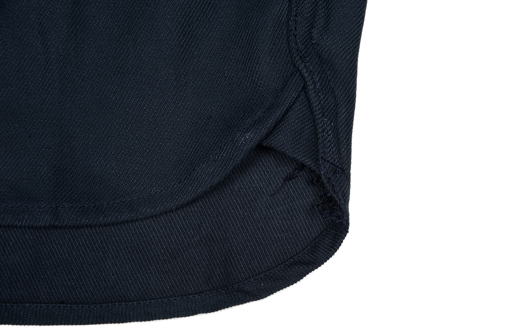 3sixteen CPO Shirt - Navy Twill - Image 8