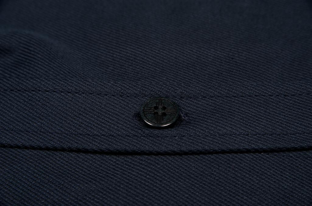 3sixteen CPO Shirt - Navy Twill - Image 9
