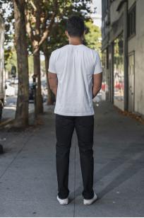Iron Heart 777s-BB Jeans - Slim Tapered Black/Black Denim - Image 1