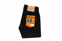 Iron Heart 777s-BB Jeans - Slim Tapered Black/Black Denim - Image 2