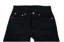 Iron Heart 777s-BB Jeans - Slim Tapered Black/Black Denim - Image 3