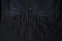 Sugar Cane Moleskin French Work Jacket - Aged Black - Image 6