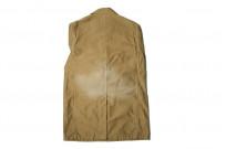 Sugar Cane Moleskin French Work Coat - Aged Khaki - Image 10