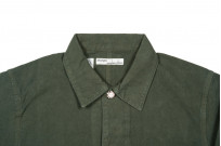 Seuvas No. 11 Canvas Coverall Jacket - Olive - Image 3
