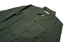 Seuvas No. 11 Canvas Coverall Jacket - Olive - Image 4
