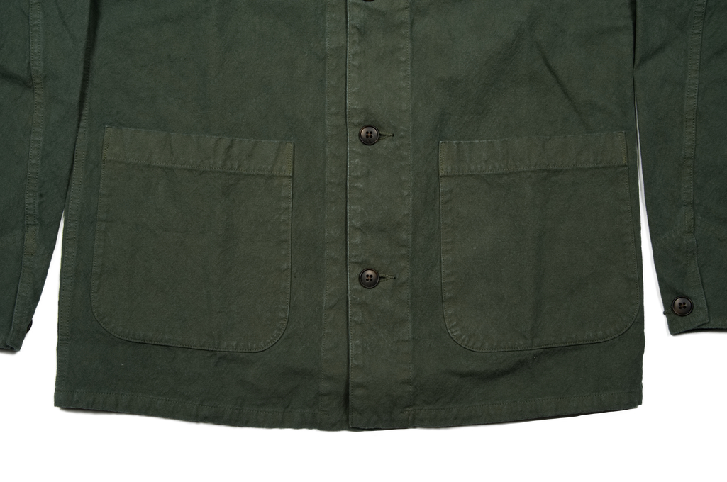 Seuvas No. 11 Canvas Coverall Jacket - Olive - Image 6