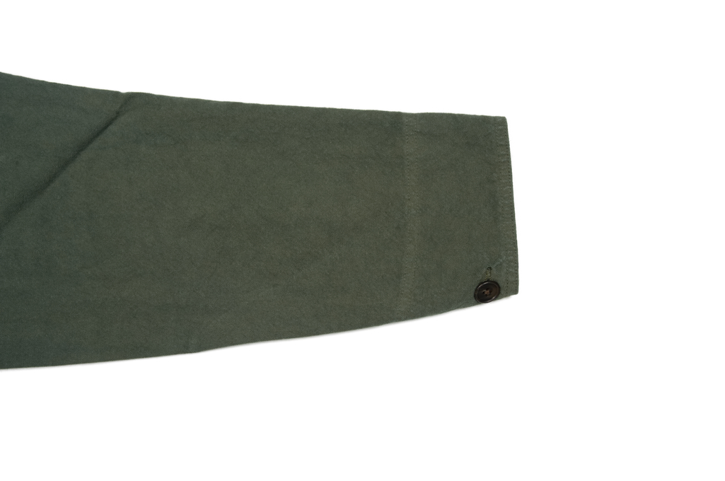 Seuvas No. 11 Canvas Coverall Jacket - Olive - Image 8