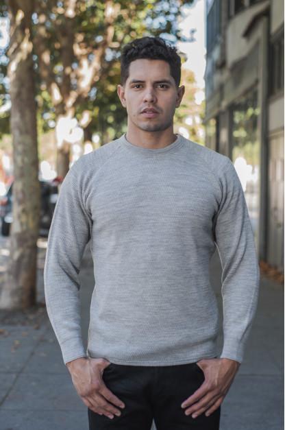 Stevenson Absolutely Amazing Merino Wool Thermal Shirt - Light Gray