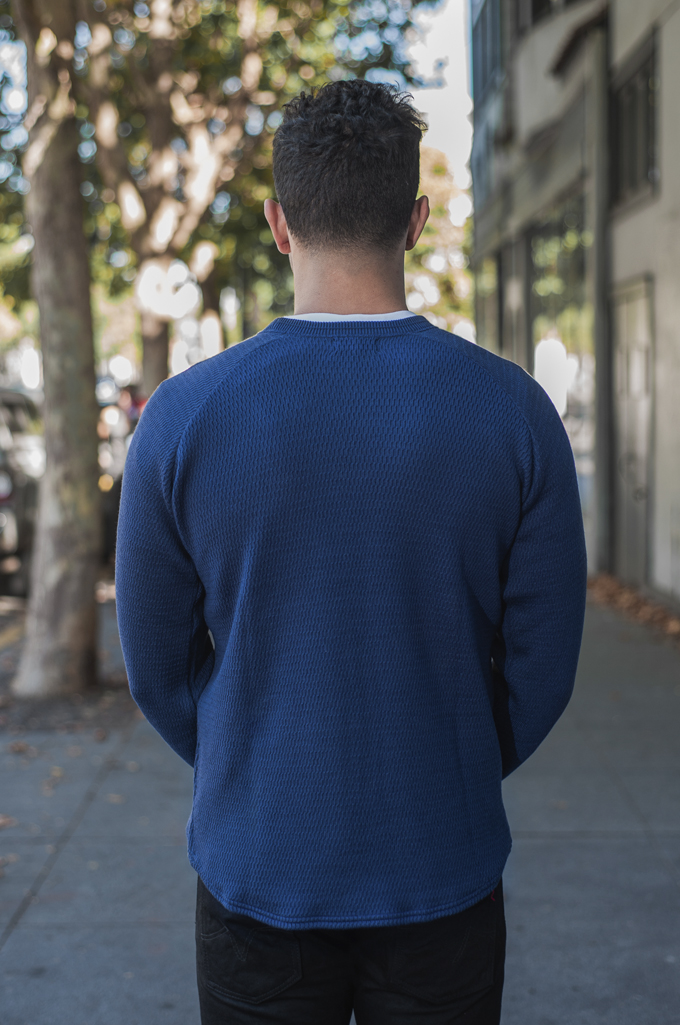 Stevenson Absolutely Amazing Merino Wool Thermal Shirt - Navy - Image 1