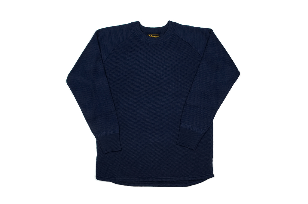 Stevenson Absolutely Amazing Merino Wool Thermal Shirt - Navy - Image 2
