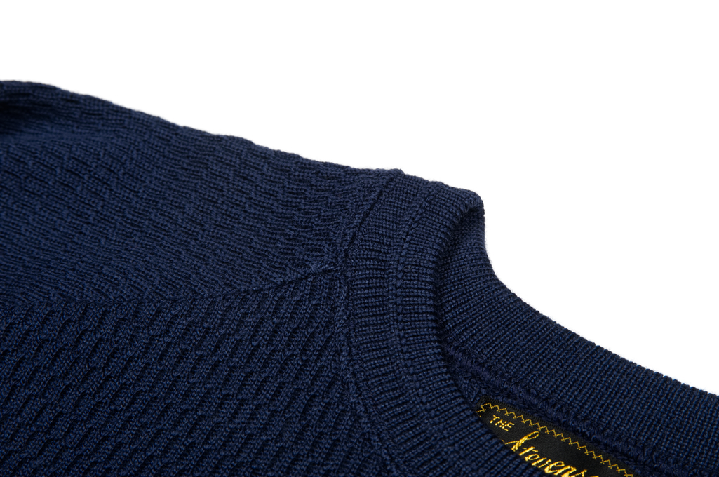 Stevenson Absolutely Amazing Merino Wool Thermal Shirt - Navy - Image 5