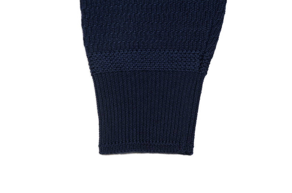 Stevenson Absolutely Amazing Merino Wool Thermal Shirt - Navy - Image 6