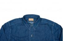 Stevenson Unionist Denim Shirt - Faded Indigo - Image 3