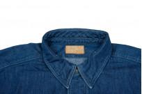 Stevenson Unionist Denim Shirt - Faded Indigo - Image 4