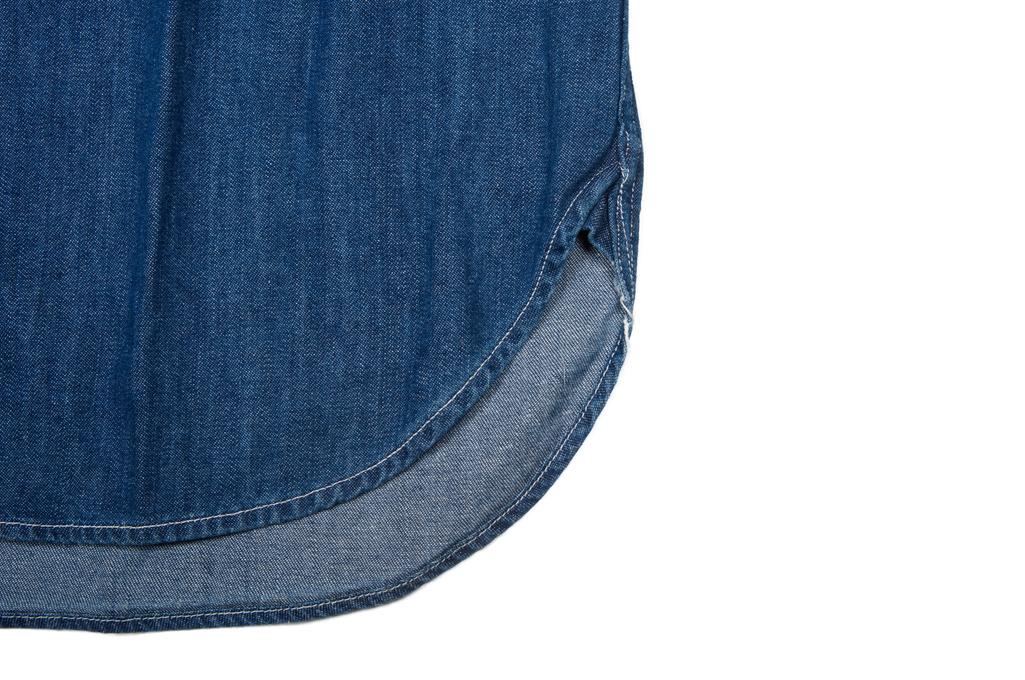 Stevenson Unionist Denim Shirt - Faded Indigo - Image 7