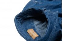 Stevenson Unionist Denim Shirt - Faded Indigo - Image 9