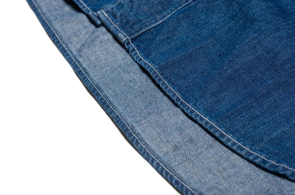 Stevenson Unionist Denim Shirt - Faded Indigo - Image 10