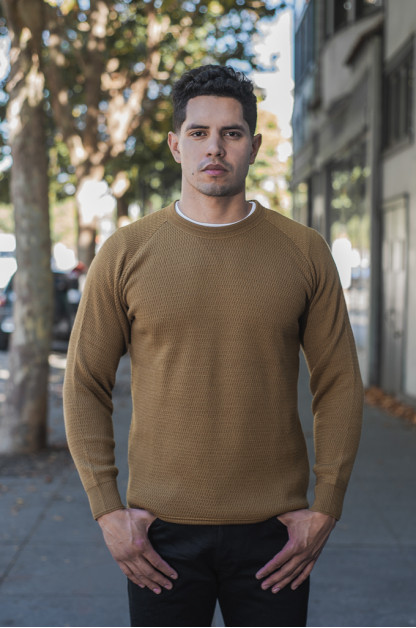 Stevenson Absolutely Amazing Merino Wool Thermal Shirt - Khaki