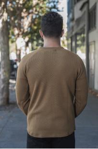 Stevenson Absolutely Amazing Merino Wool Thermal Shirt - Khaki - Image 1