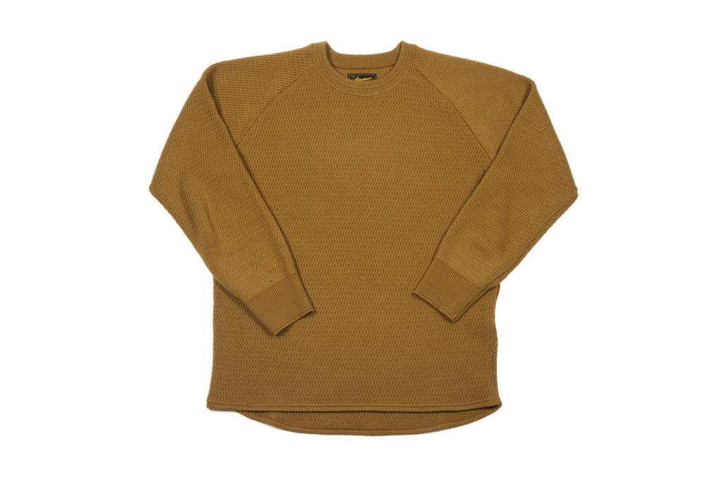 Stevenson Absolutely Amazing Merino Wool Thermal Shirt - Khaki - Image 2