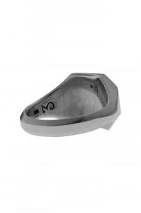 Neff Goldsmith Signet Ring - Silver w/ Plate & Milgrain - Image 3