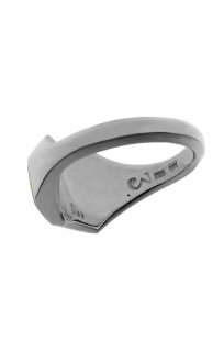 Neff Goldsmith Signet Ring - Sterling Silver & 18k Gold - Image 3