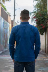 Mister Freedom Trailblazer Shirt - Prussian Blue - Image 1
