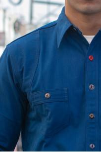 Mister Freedom Trailblazer Shirt - Prussian Blue - Image 2