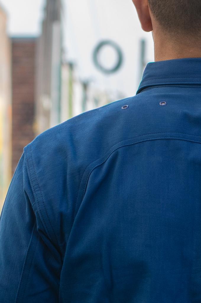 Mister Freedom Trailblazer Shirt - Prussian Blue - Image 4
