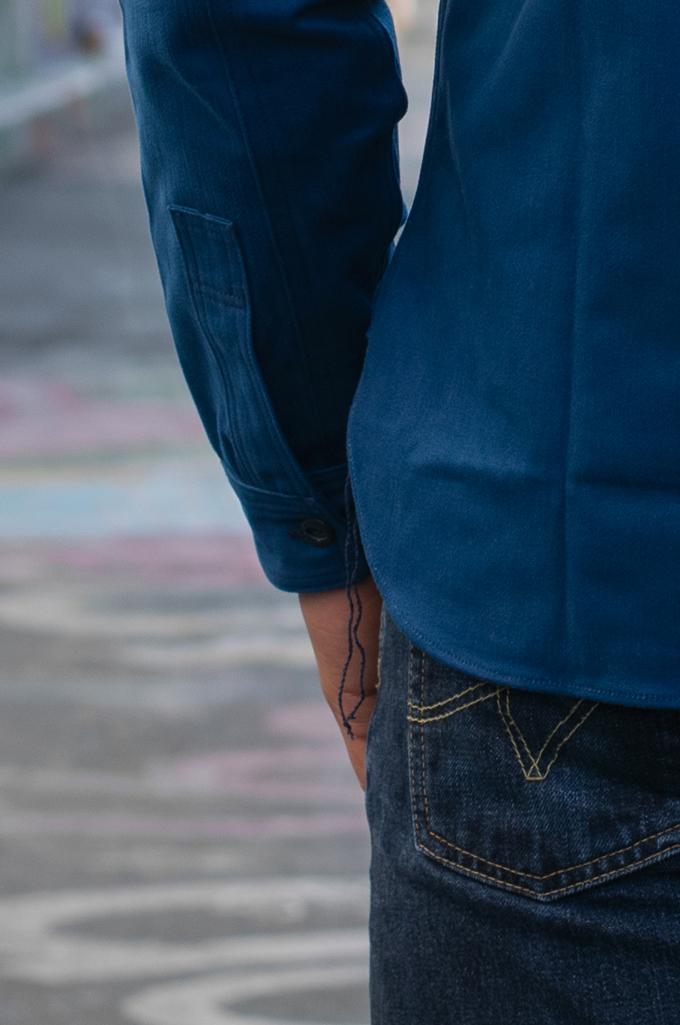 Mister Freedom Trailblazer Shirt - Prussian Blue - Image 5