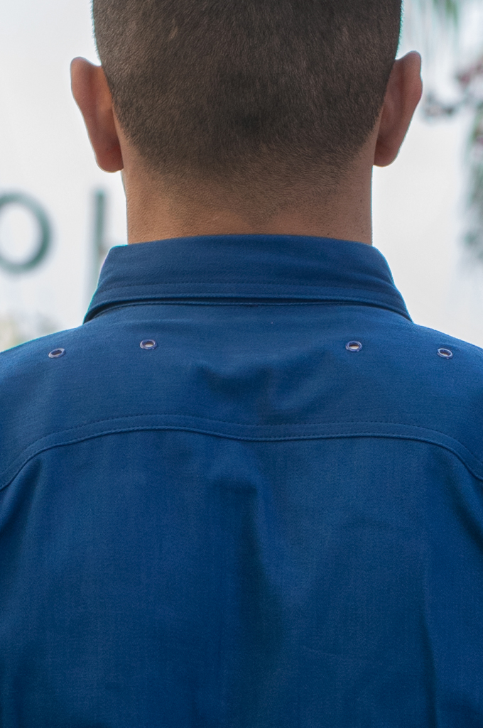 Mister Freedom Trailblazer Shirt - Prussian Blue - Image 6
