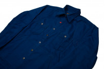 Mister Freedom Trailblazer Shirt - Prussian Blue - Image 10