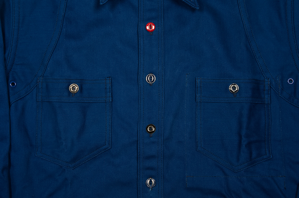 Mister Freedom Trailblazer Shirt - Prussian Blue - Image 11