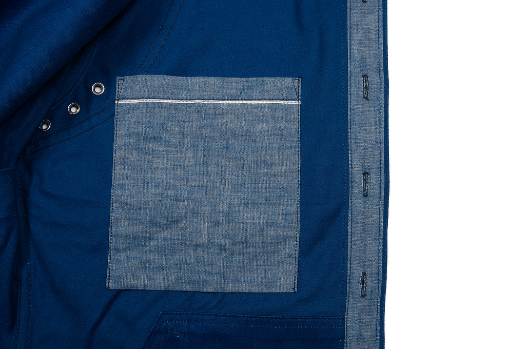 Mister Freedom Trailblazer Shirt - Prussian Blue - Image 17