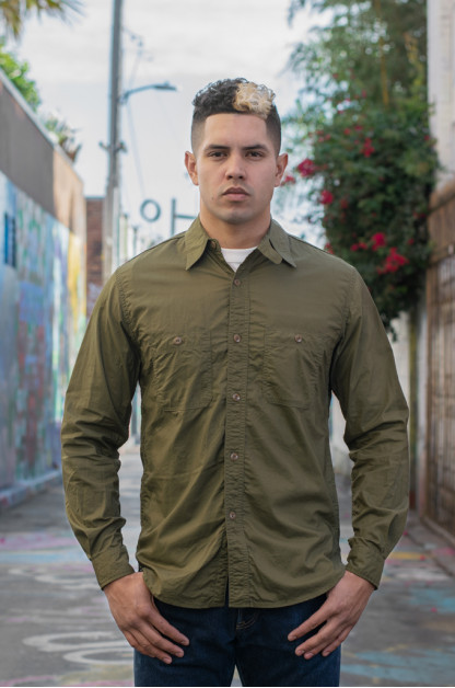 Papa Nui Tarawa Shirt - Olive