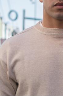 Warehouse Loopwheeled Set-In Freedom Crewneck Sweater - Oatmeal - Image 1