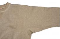 Warehouse Loopwheeled Set-In Freedom Crewneck Sweater - Oatmeal - Image 9