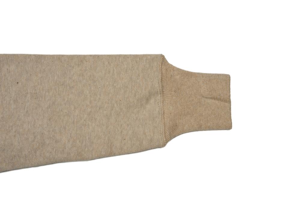 Warehouse Loopwheeled Set-In Freedom Crewneck Sweater - Oatmeal - Image 10
