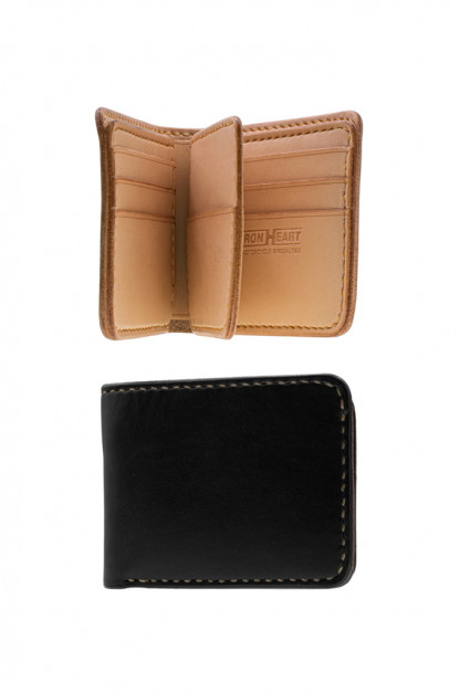 Iron Heart Calf Folding Wallet