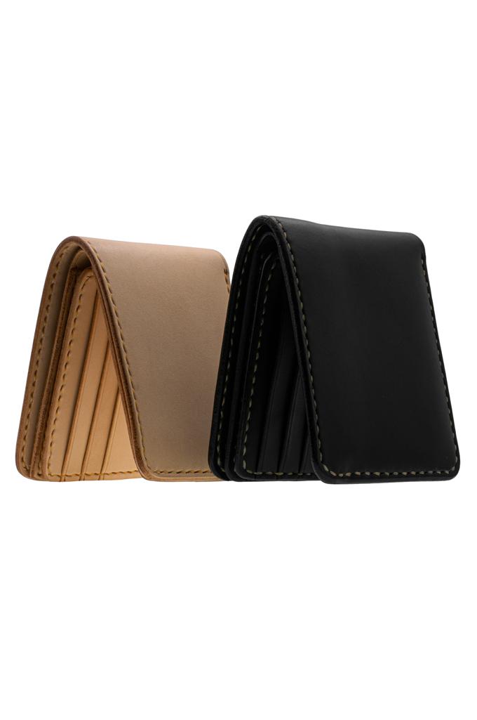 Iron Heart Calf Folding Wallet - Image 1