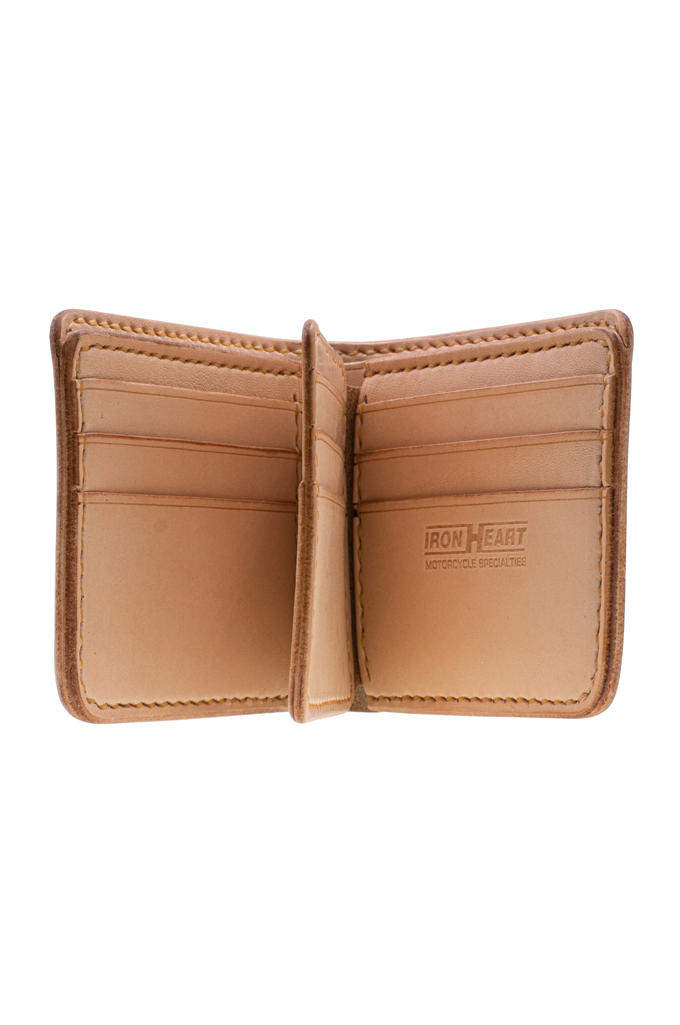 Iron Heart Calf Folding Wallet - Image 2