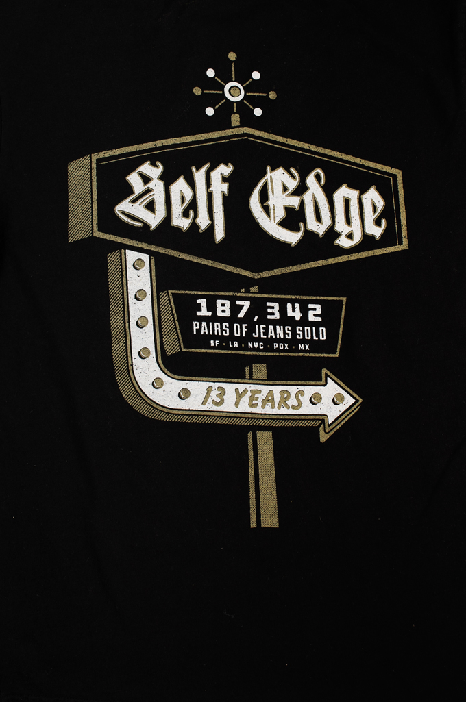 Self Edge Graphic Series T-Shirt #11 - Actual Number - Image 2