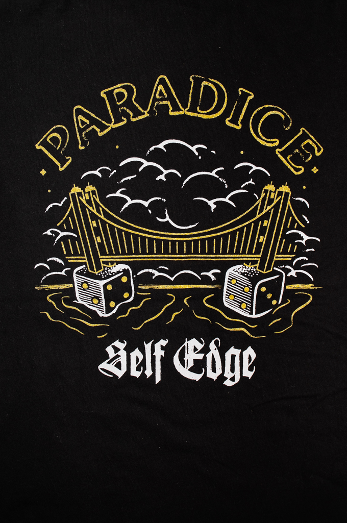 Self Edge Graphic Series T-Shirt #10 - Paradice - Image 2