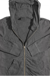 3sixteen for Self Edge Garment Dyed French Terry - Zip Hoodie - Image 9