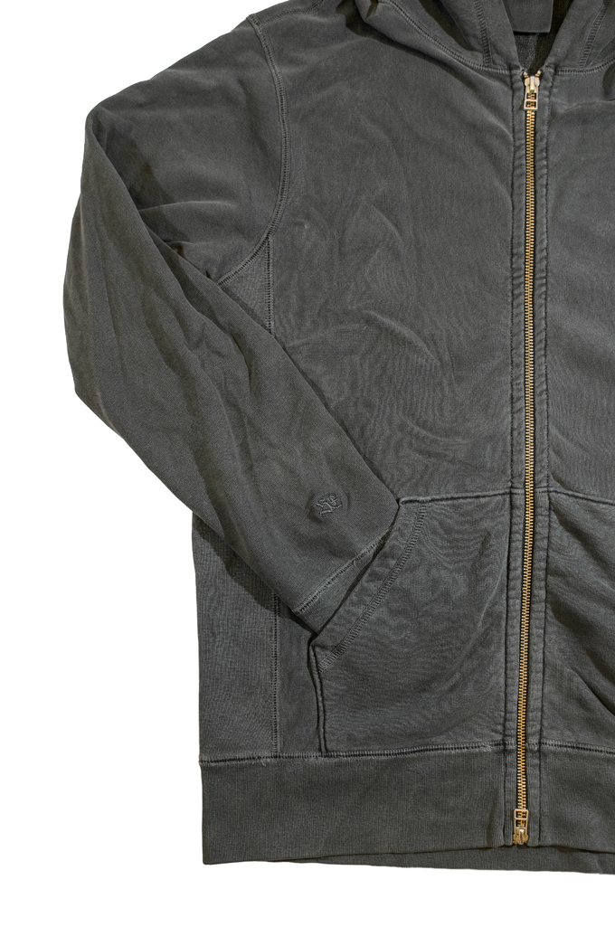 3sixteen for Self Edge Garment Dyed French Terry - Zip Hoodie - Image 6