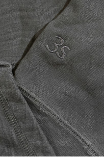 3sixteen for Self Edge Garment Dyed French Terry - Zip Hoodie - Image 7