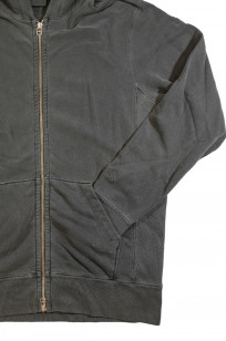 3sixteen for Self Edge Garment Dyed French Terry - Zip Hoodie - Image 8