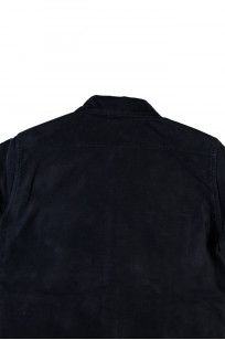 Iron Heart Heavy Moleskin CPO Overshirt - Navy - Image 9